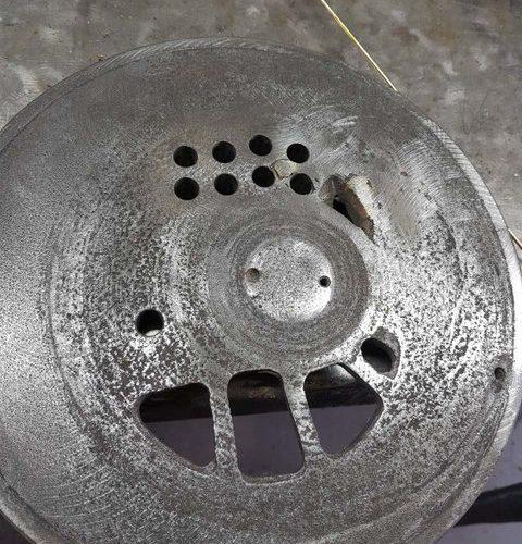 Vandens žiedas prieš remontą